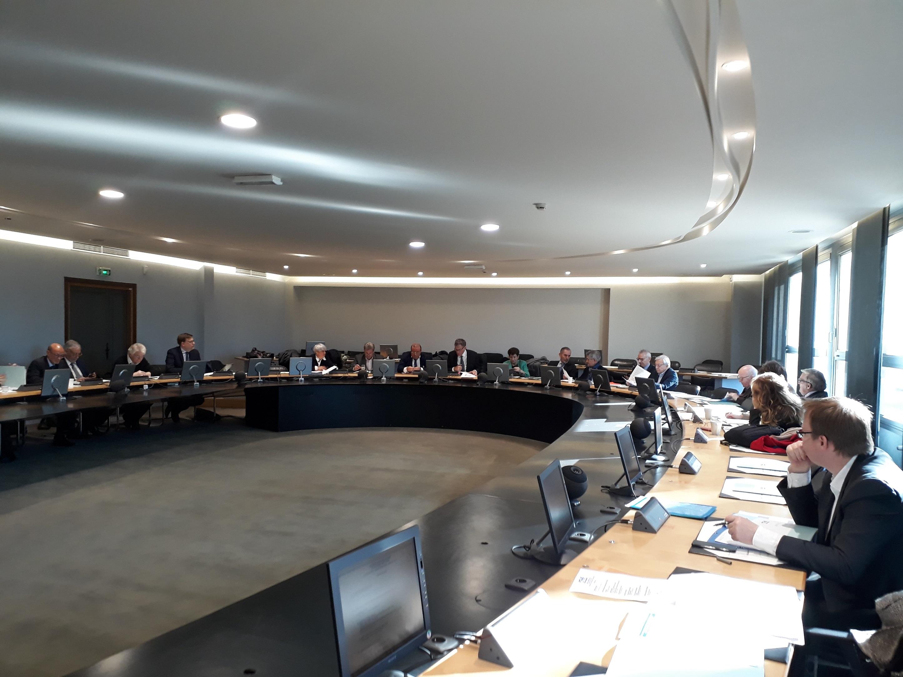 Conseil d'administration FHF HDF – 8 mars 2019