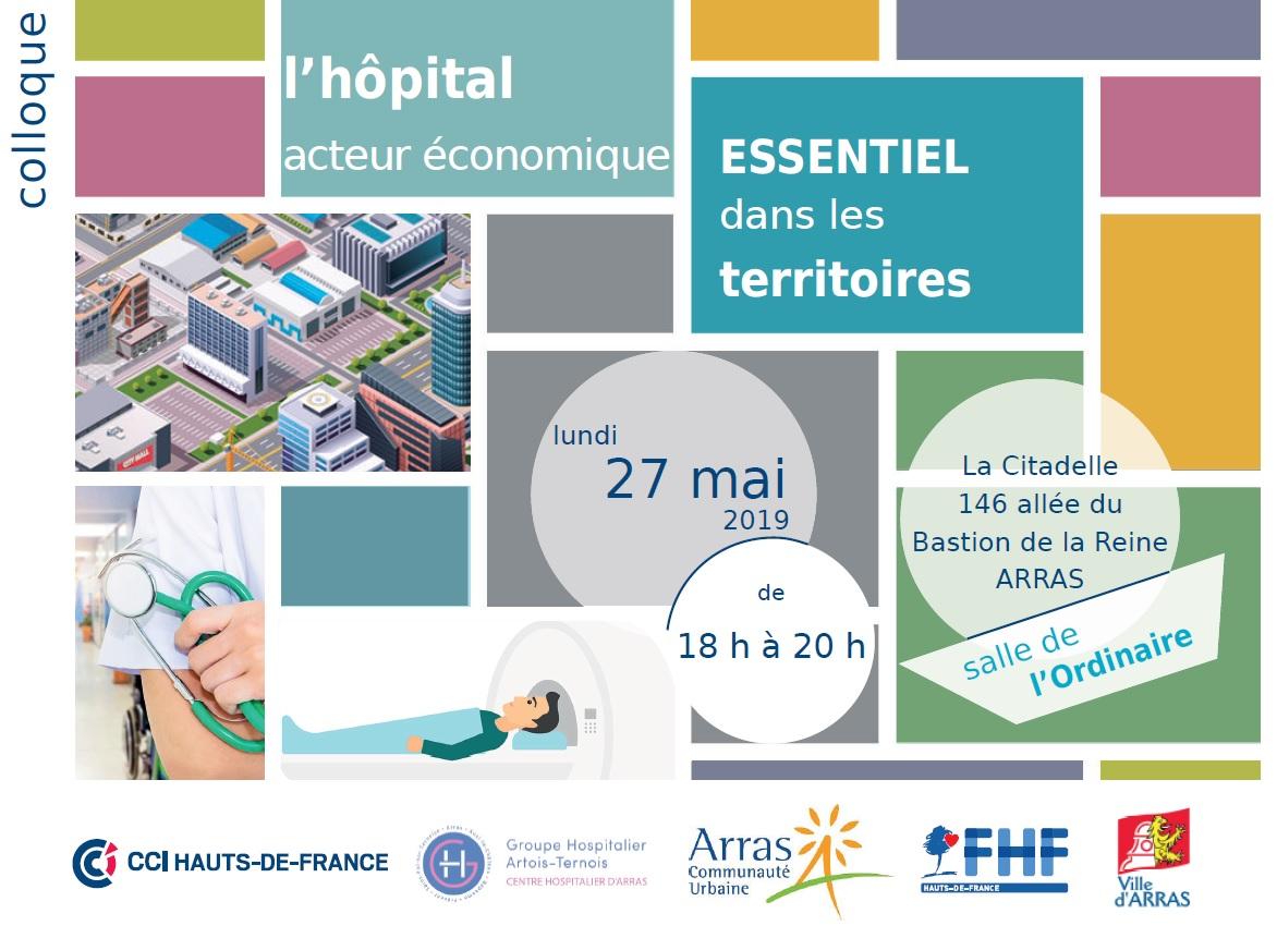 Colloque «L'hôpital, acteur essentiel dans les territoires» – 27 mai à Arras
