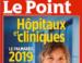 Palmarès des hôpitaux 2019 : les établissements de la région Hauts-de-France