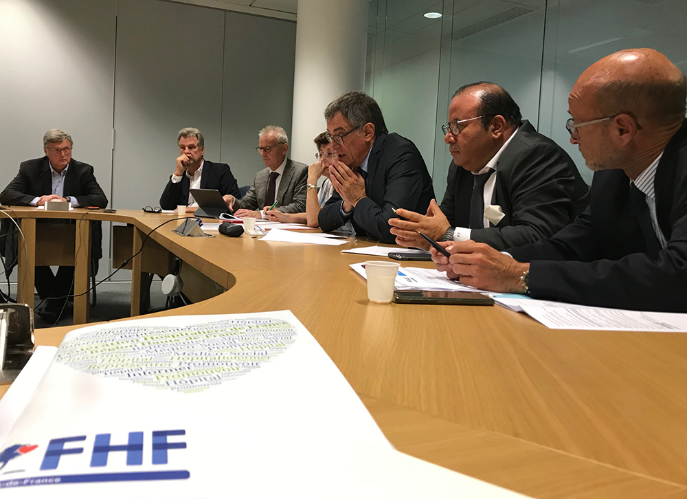 Rencontre FHF HDF avec M. Champion, Directeur général de l'ARS HDF
