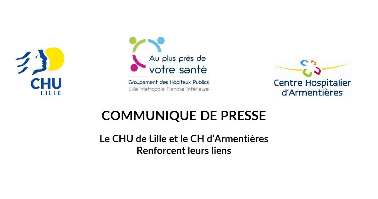 Le CHU de Lille et le CH d'Armentières renforcent leurs liens