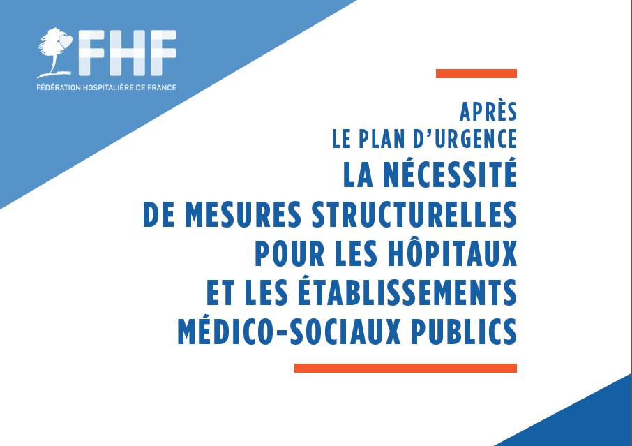 «La nécessité de mesures structurelles» : les propositions FHF de décembre 2019