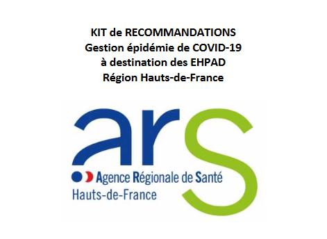 Covid-19 – Guide ARS HDF de gestion de l'épidémie à destination des EHPAD (21 mars)
