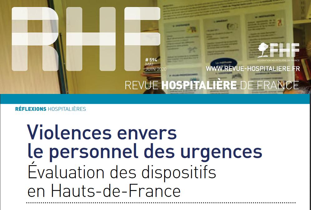 Enquête FHF HDF «Violences aux Urgences» – Publication de la partie 3 dans la RHF