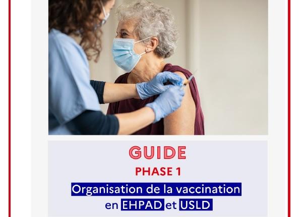 Covid-19 – Guide de la campagne de vaccination Covid-19 en EHPAD et USLD (22 décembre)