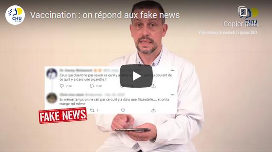 Vaccination anti Covid-19 : le CHU de Lille répond aux fake news