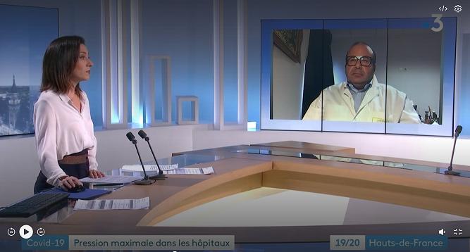 «Pression maximale dans les hôpitaux» – Interview du Dr Ziad KHODR
