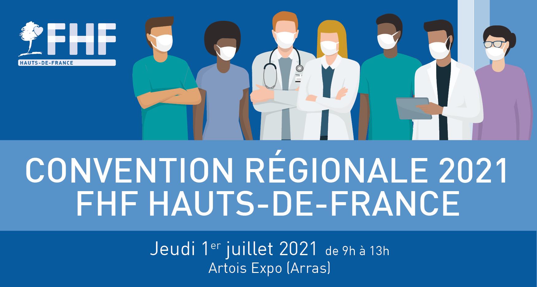 Convention régionale FHF Hauts-de-France – 1er juillet 2021