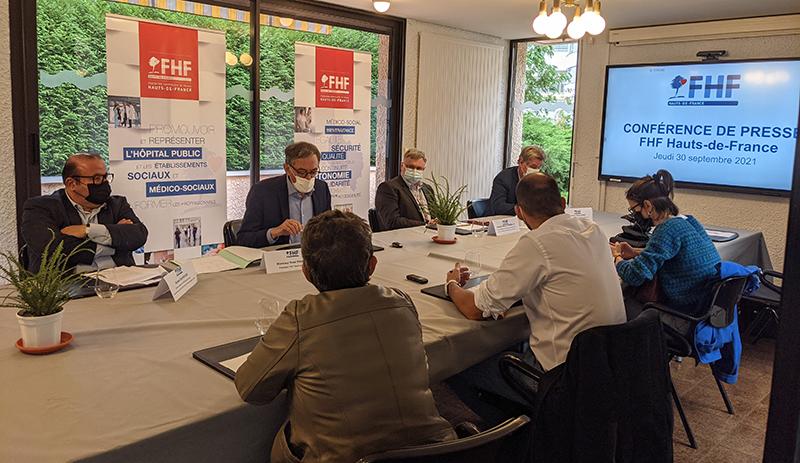 Conférence de presse FHF Hauts-de-France – 30 septembre 2021